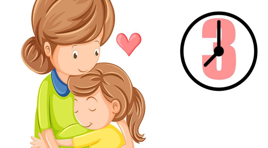«Правило 3 минут» для родителей